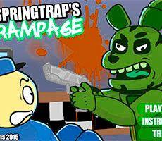 Rampage de Springtrap FNAF